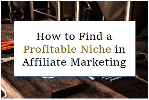 How to Find a Profitable Niche in Affiliate Marketing