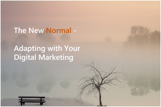 The New Normal - Adapting with Your Digital Marketing